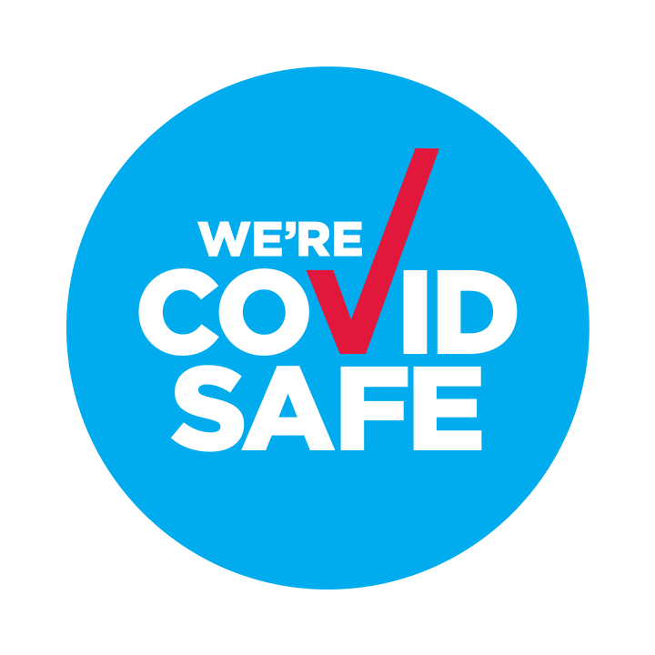 We're a Covid Safe business.